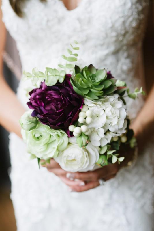 wedding-bouquet-534x800 Kristen and Nick Wedding at aVenue | Nashville, TN