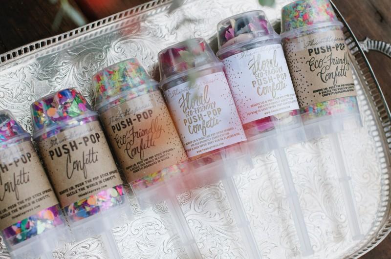wedding-confetti-800x530 Laurie + Craig - Antrim Wedding   Columbia, TN