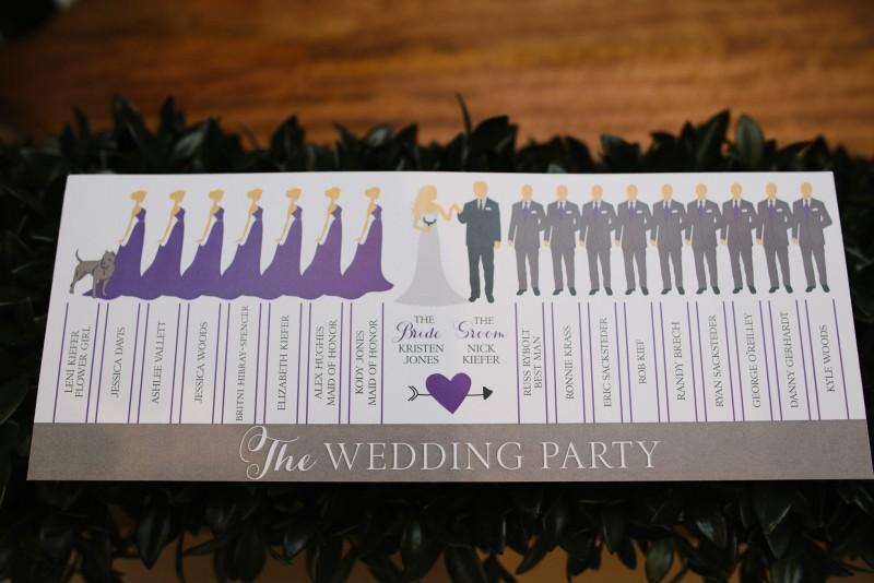 wedding-party-paper-800x534 Kristen and Nick Wedding at aVenue | Nashville, TN
