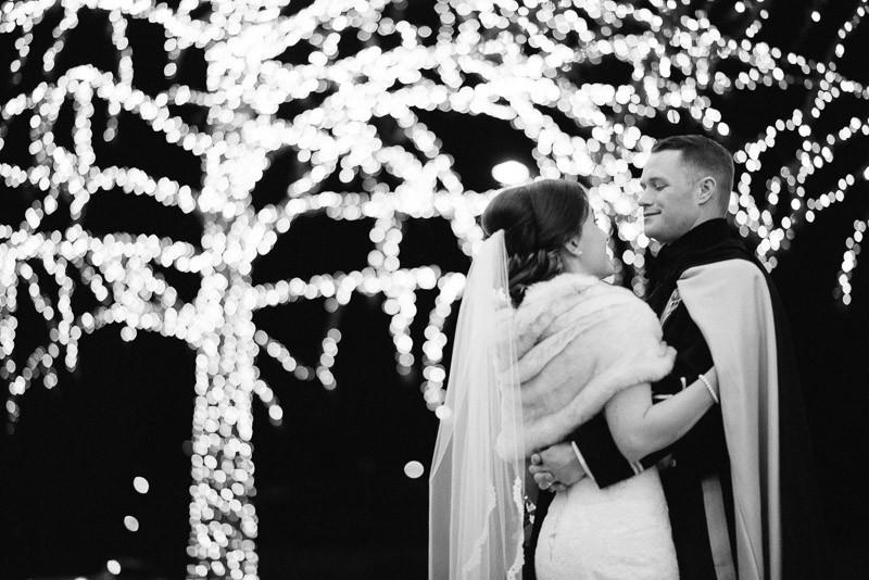 black-and-white-epic-wedding-photo-800x534 Julia and Wes | Nashville, TN Winter Wedding | Gaylord Opryland Hotel