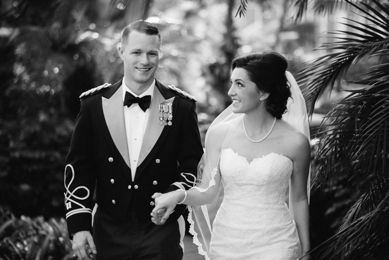 bride-groom-military-800x534 Julia and Wes | Nashville, TN Winter Wedding | Gaylord Opryland Hotel