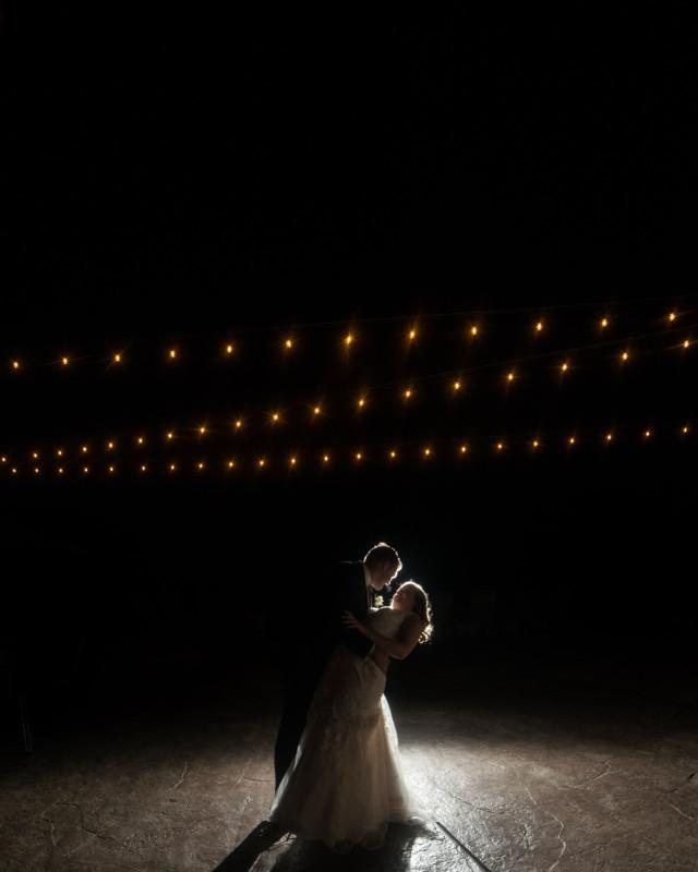 bride-groom-under-lights-640x800 Rachel + Kyle | Nelson Andrews Lodge | Nashville, TN