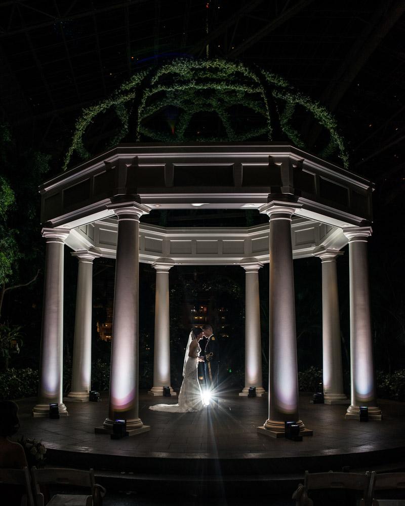 epic-wedding-pose Julia and Wes | Nashville, TN Winter Wedding | Gaylord Opryland Hotel