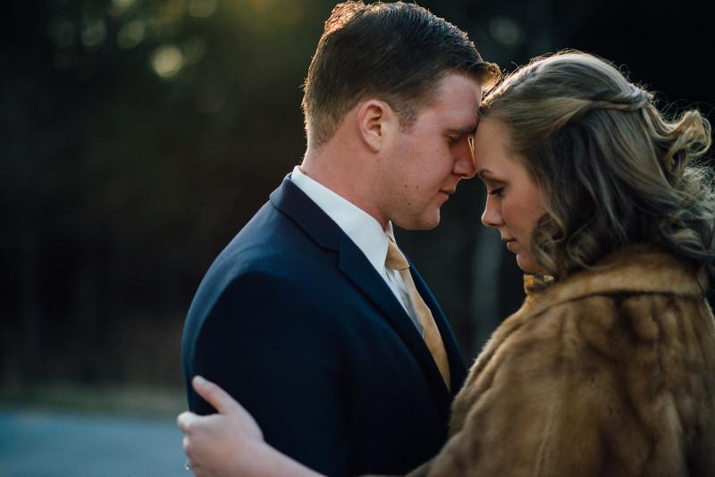 forehead-pose-bride-800x534 Rachel + Kyle | Nelson Andrews Lodge | Nashville, TN