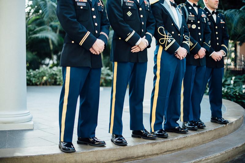 military-wedding-dress-800x534 Julia and Wes | Nashville, TN Winter Wedding | Gaylord Opryland Hotel