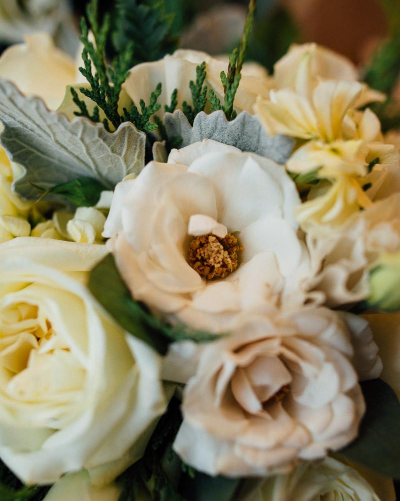 wedding-bouquet Julia and Wes | Nashville, TN Winter Wedding | Gaylord Opryland Hotel