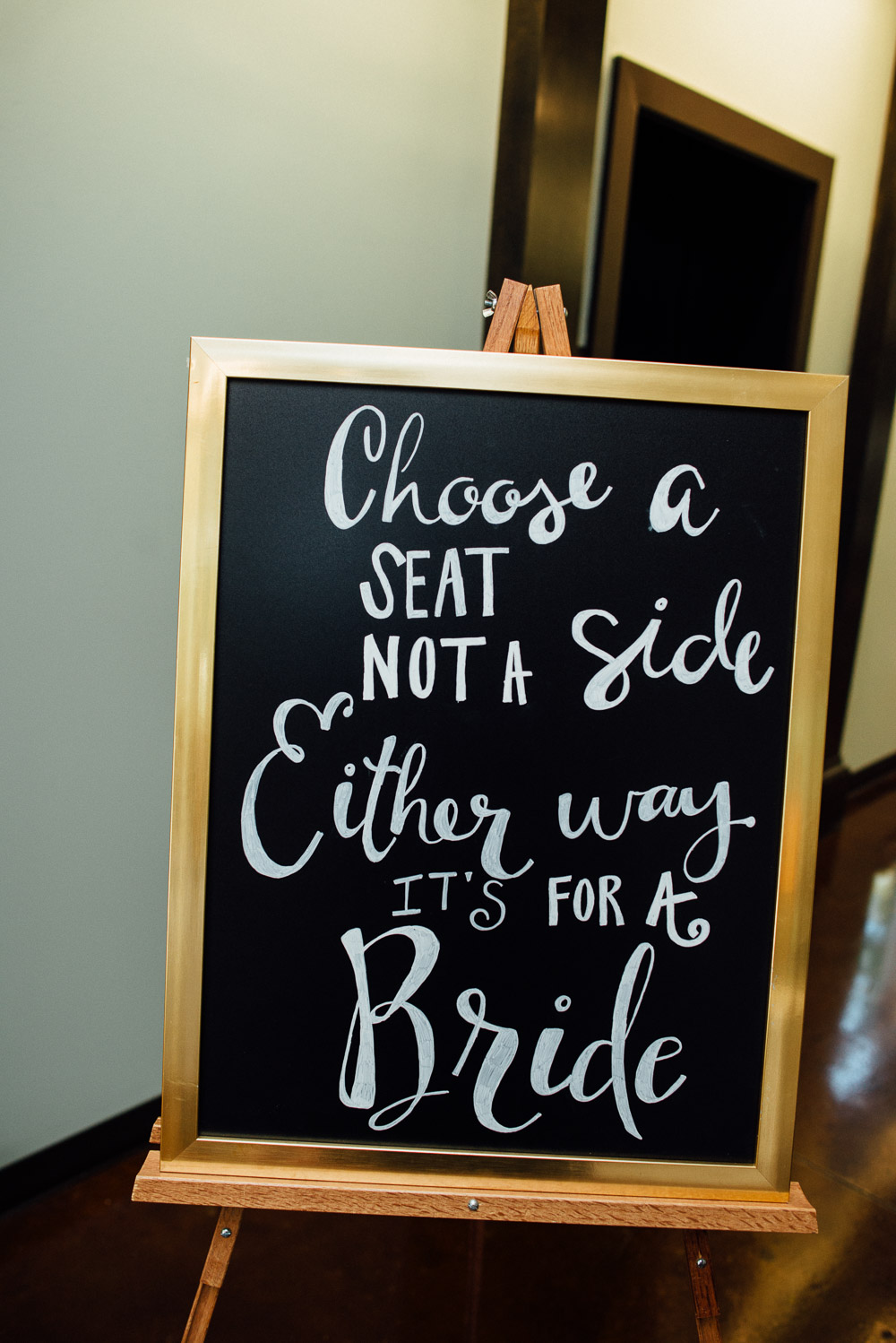 choose-a-seat-either-way-its-for-a-bride Amy + Tara | Travellers Rest Plantation Wedding