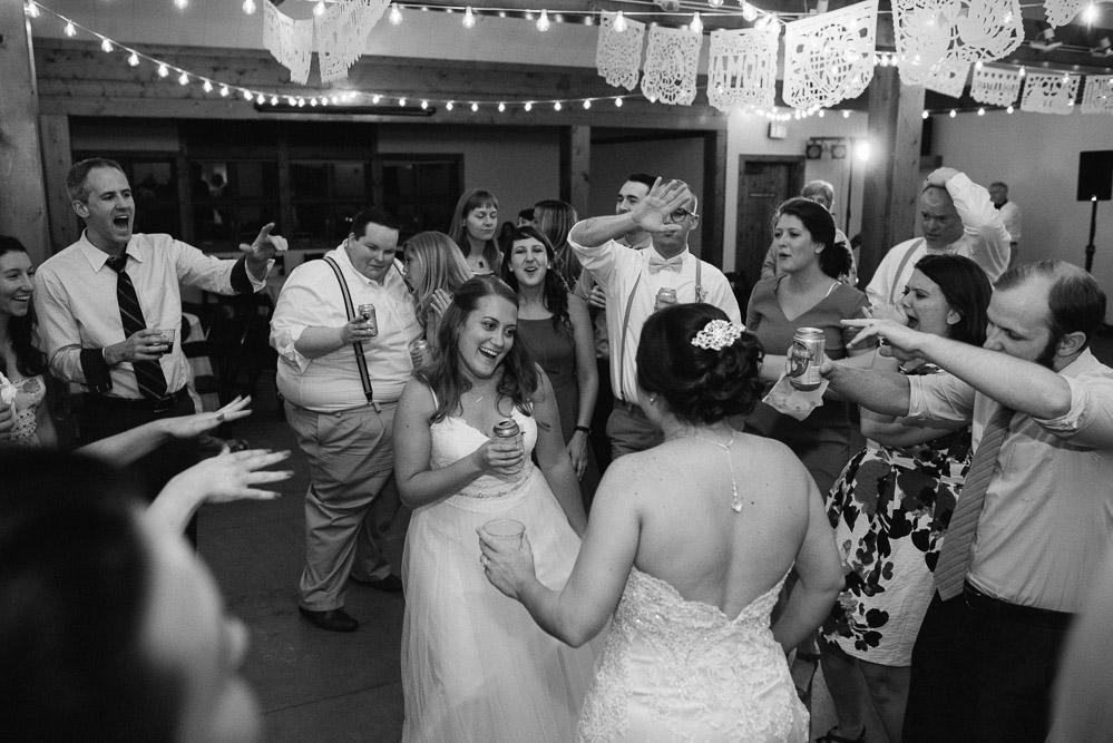 fun-wedding-party Amy + Tara | Travellers Rest Plantation Wedding