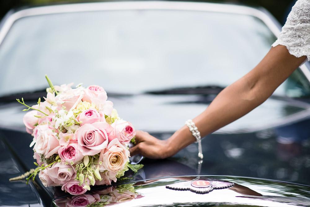 bentley-wedding-car Cloisters Castle Wedding | Towson Maryland
