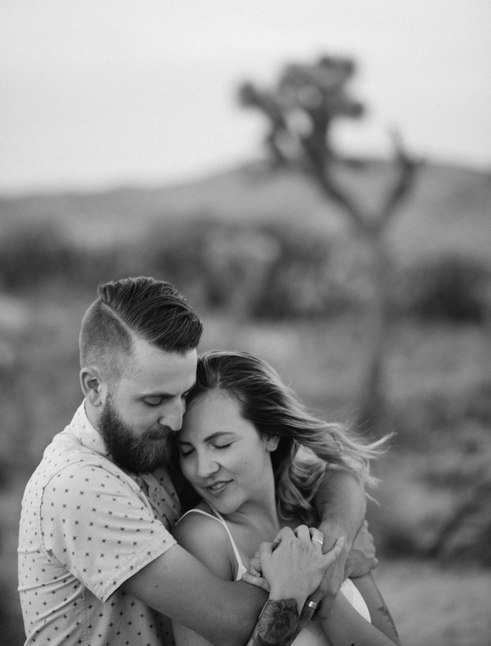 fine-art-couple-photography Epic Adventure Destination Engagement Session | Joshua Tree, CA