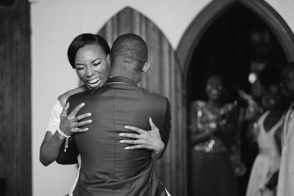 happy-bride Cloisters Castle Wedding | Towson Maryland