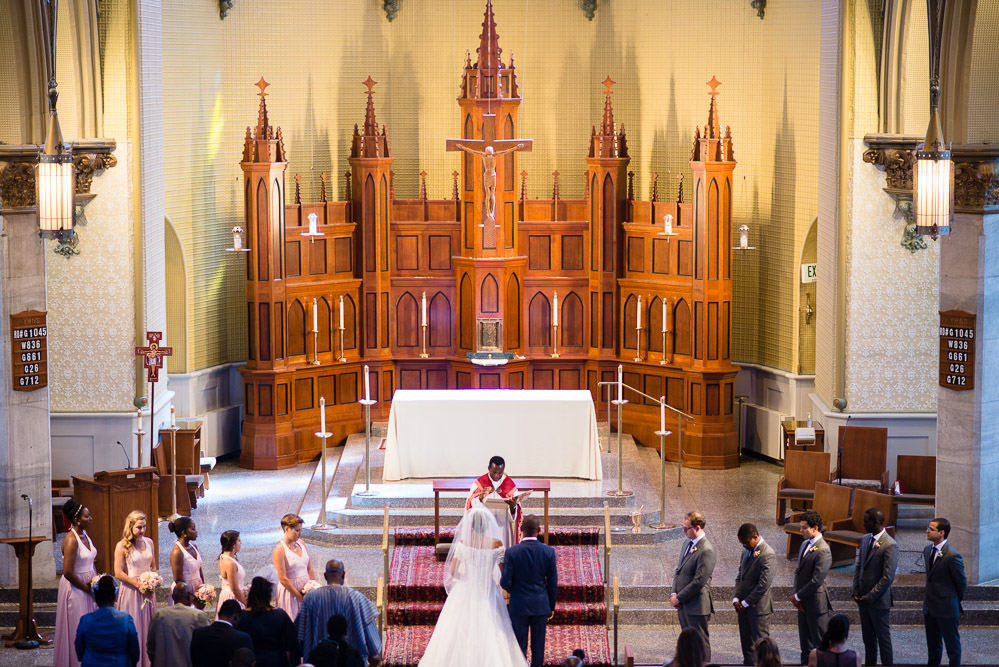 immaculate-conception-wedding Cloisters Castle Wedding | Towson Maryland