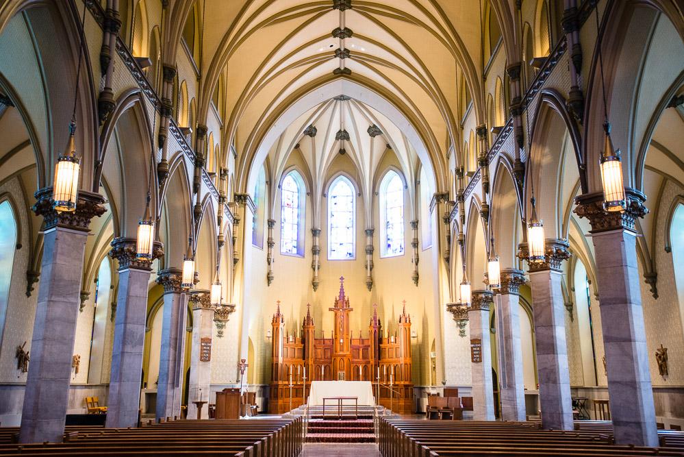 towson-maryland-catholic-wedding Cloisters Castle Wedding | Towson Maryland