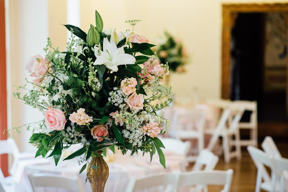 wedding-boquets Cloisters Castle Wedding | Towson Maryland