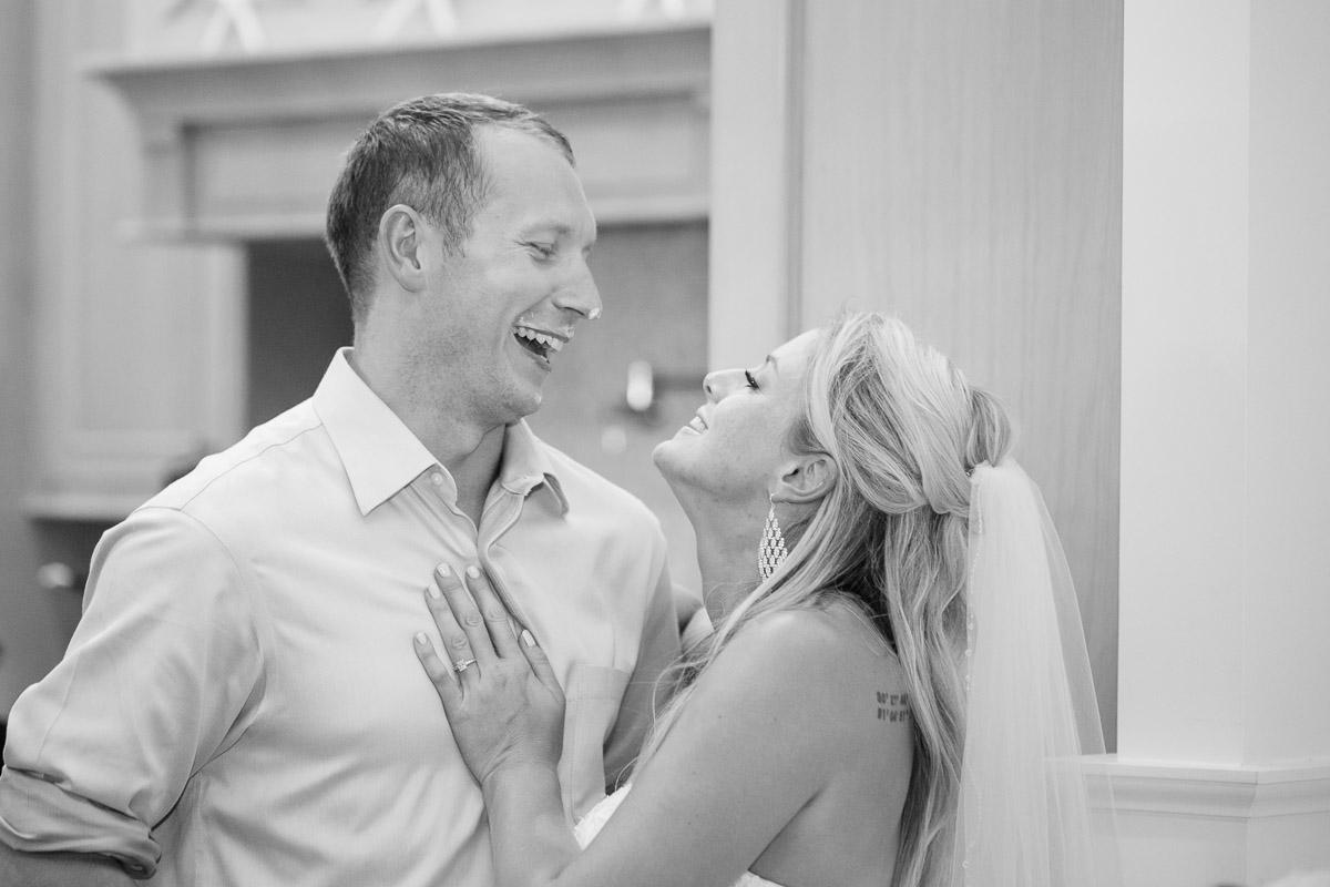 cake-in-face Destin Beach House | Destination Wedding | Kasey and Rocky