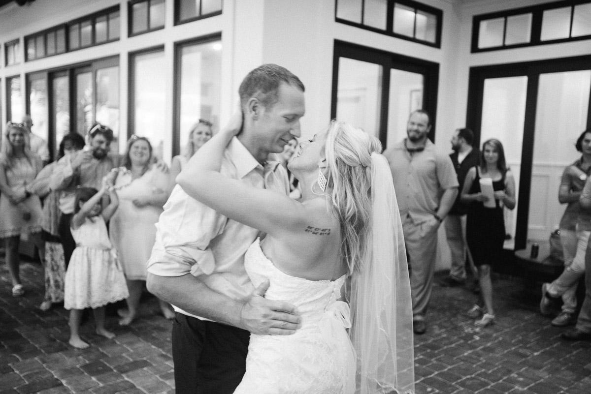 first-dance Destin Beach House | Destination Wedding | Kasey and Rocky