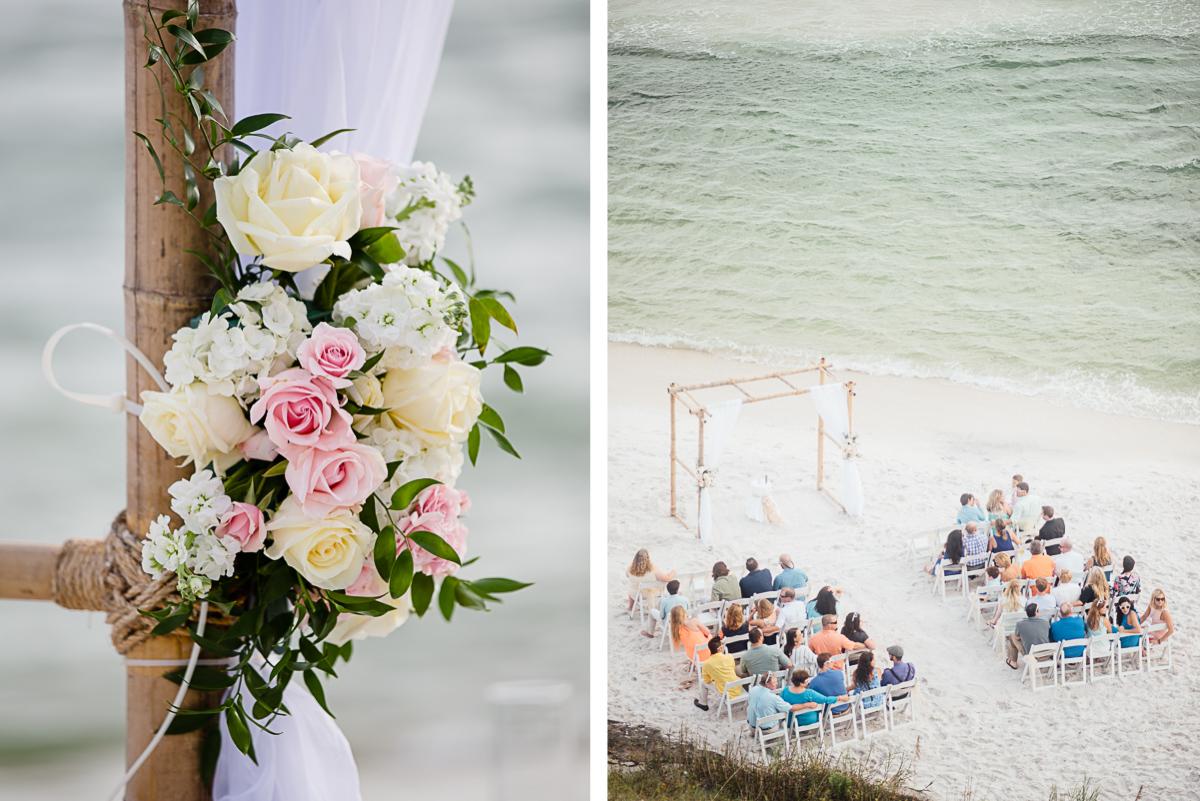 florida-beach-wedding-details-1 Destin Beach House | Destination Wedding | Kasey and Rocky