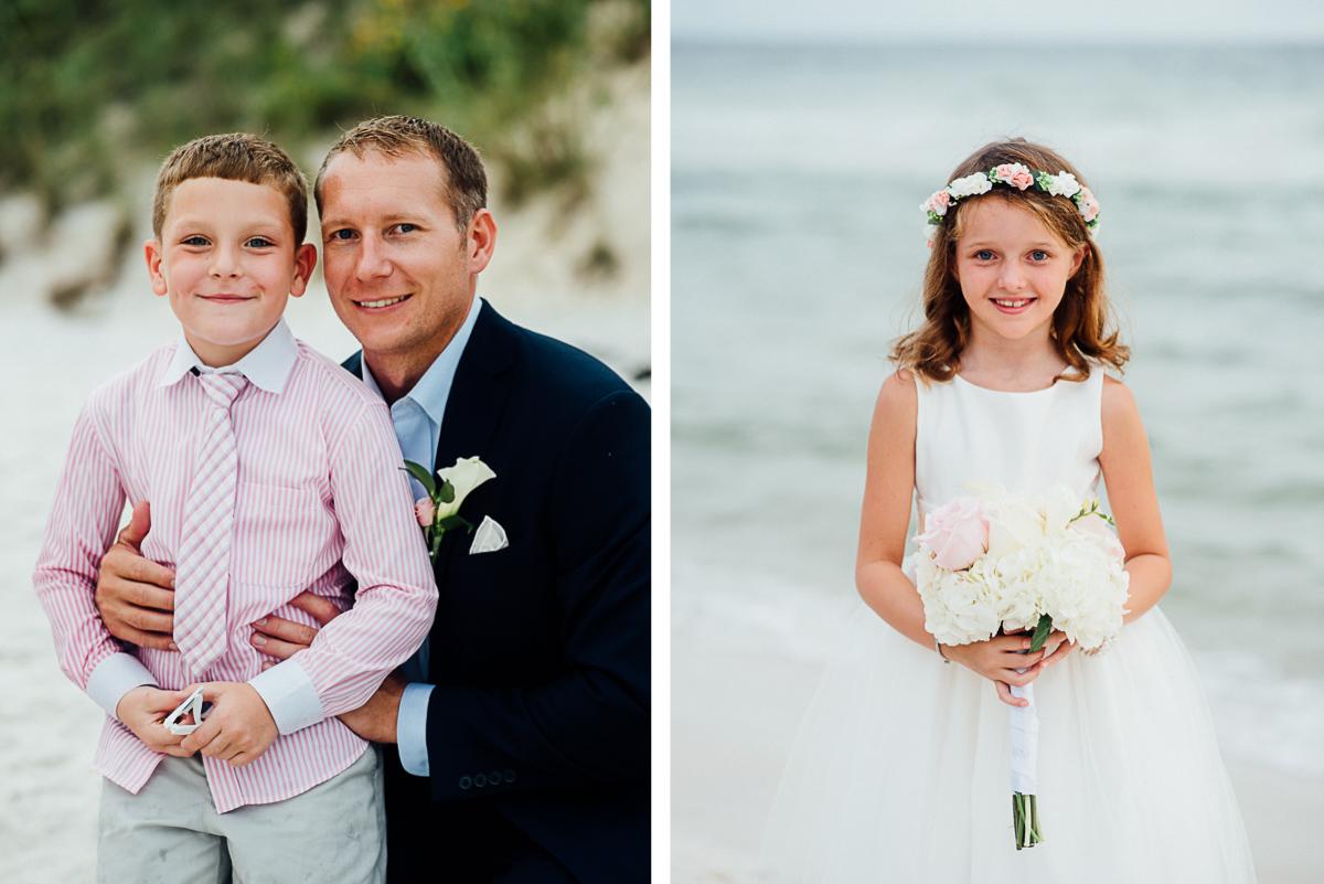 groom-with-boy-1 Destin Beach House | Destination Wedding | Kasey and Rocky