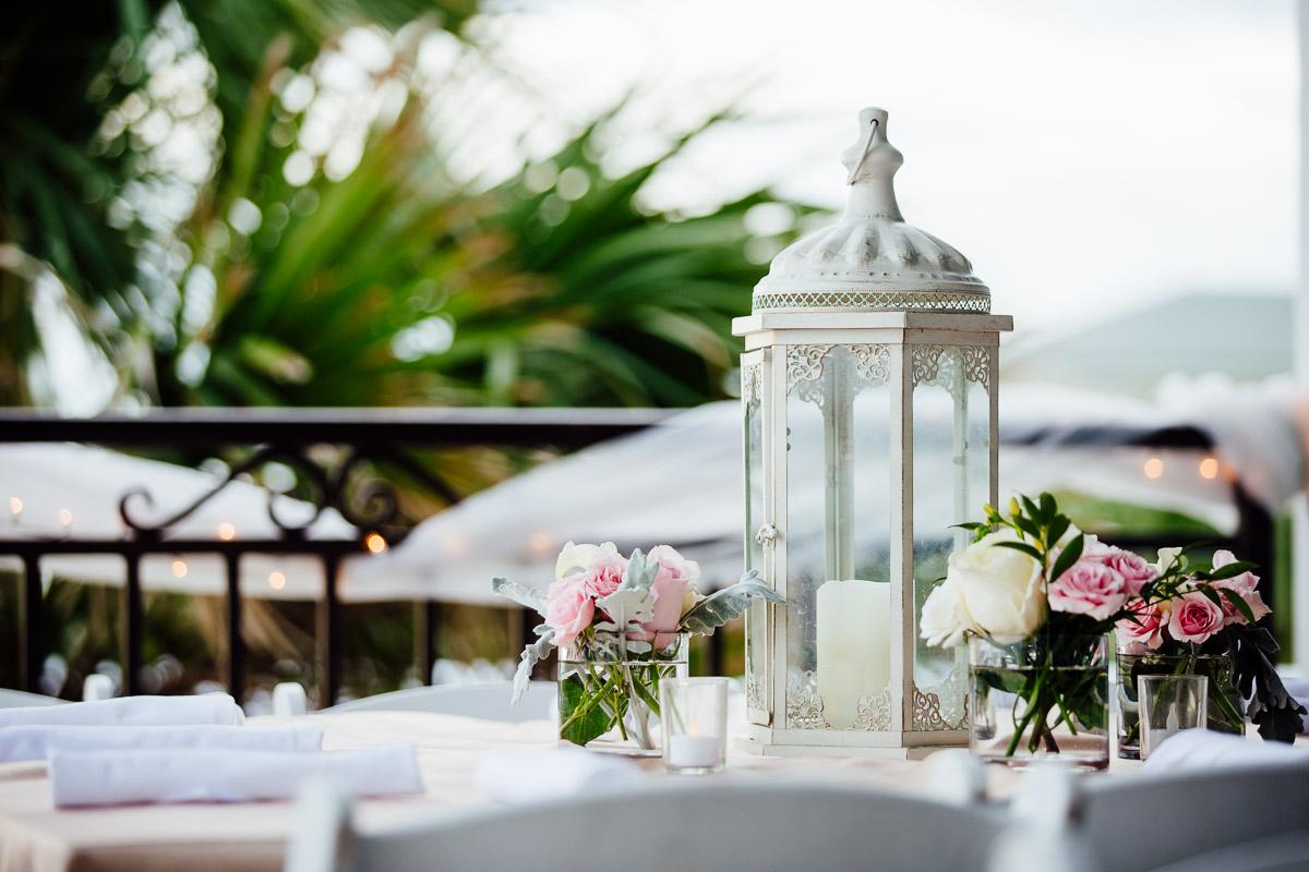 lanter-wedding-centerpieces Destin Beach House | Destination Wedding | Kasey and Rocky