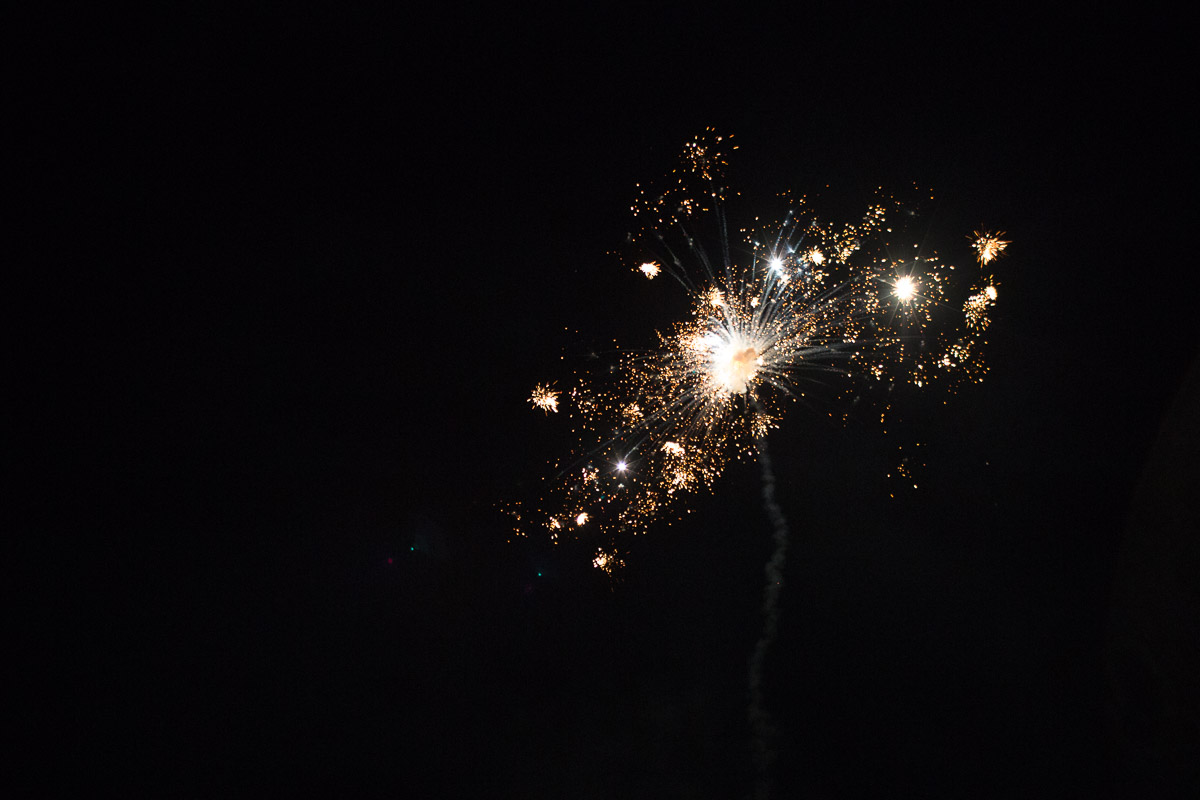 wedding-fireworks Destin Beach House | Destination Wedding | Kasey and Rocky