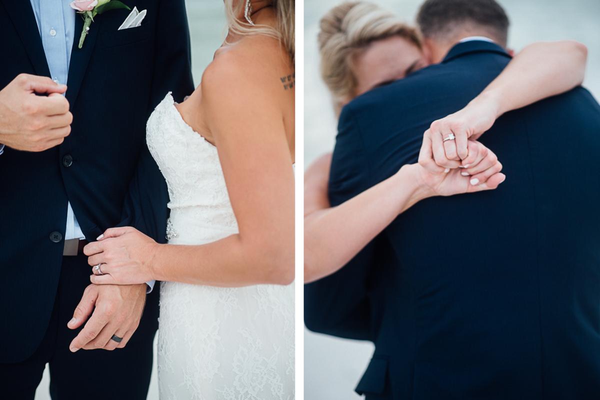 wedding-hands-1 Destin Beach House | Destination Wedding | Kasey and Rocky