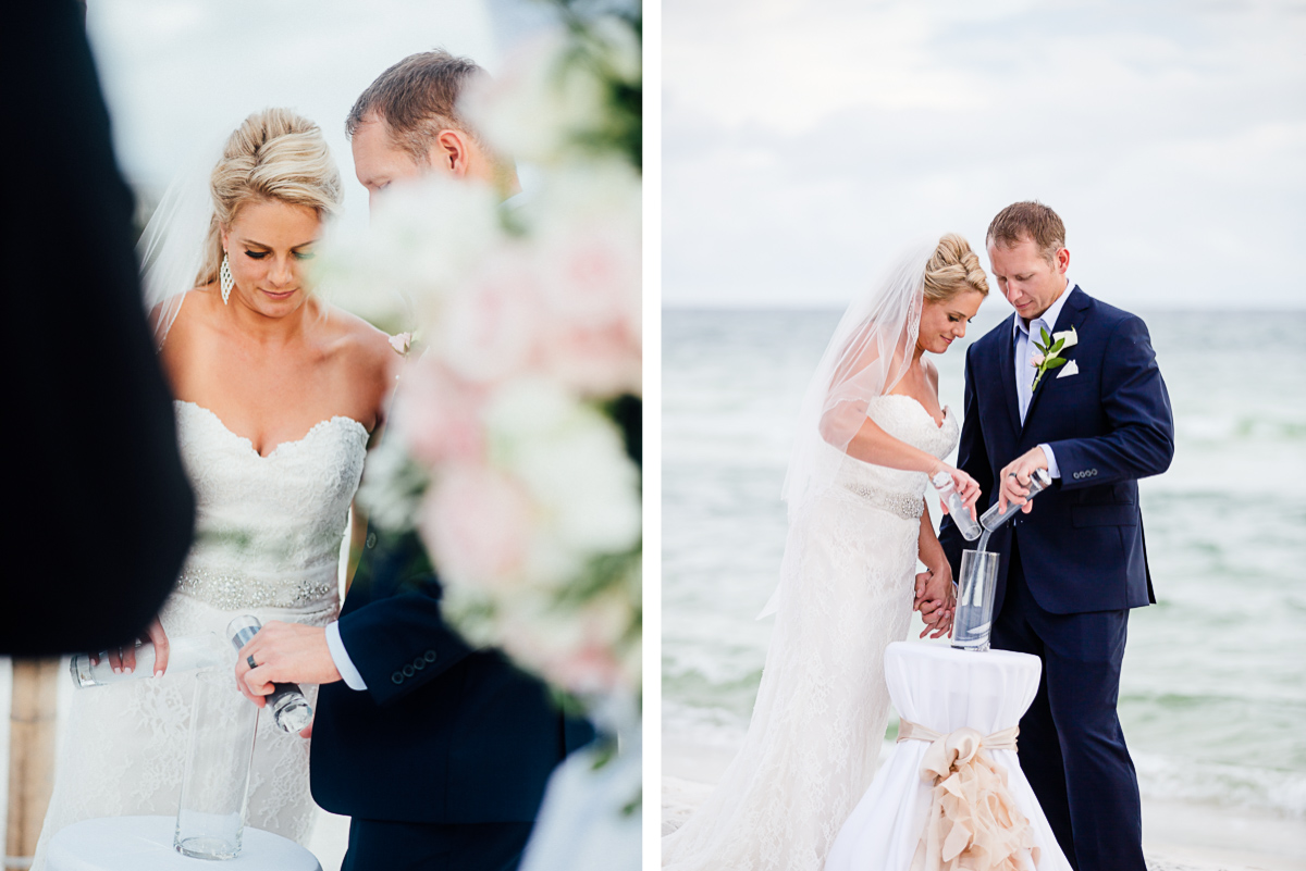 wedding-sand-ceremony-1 Destin Beach House | Destination Wedding | Kasey and Rocky