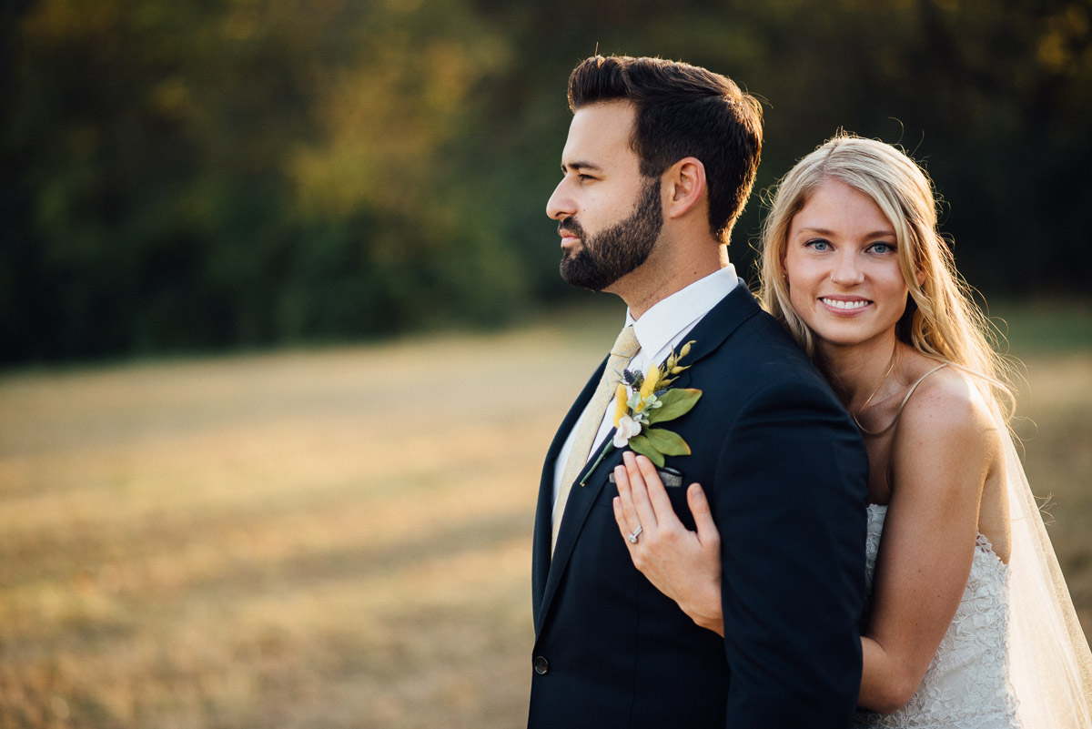 bride-and-groom-poses Becky and Alex   Green Door Gourmet - Fall Nashville Wedding