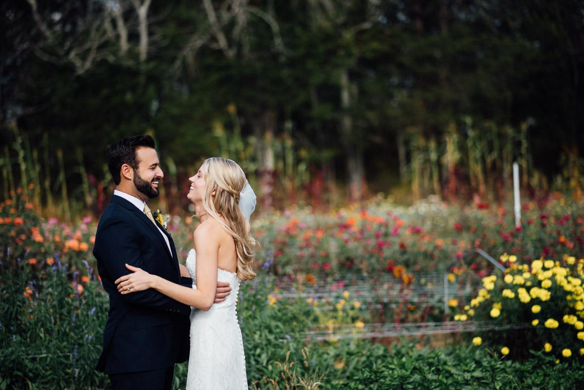 first-look Becky and Alex   Green Door Gourmet - Fall Nashville Wedding