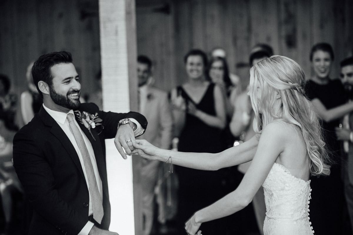 fun-first-dance Becky and Alex   Green Door Gourmet - Fall Nashville Wedding