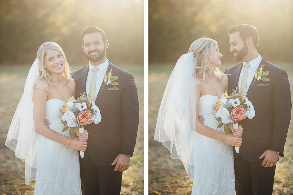 golden-hour-portraits Becky and Alex | Green Door Gourmet - Fall Nashville Wedding