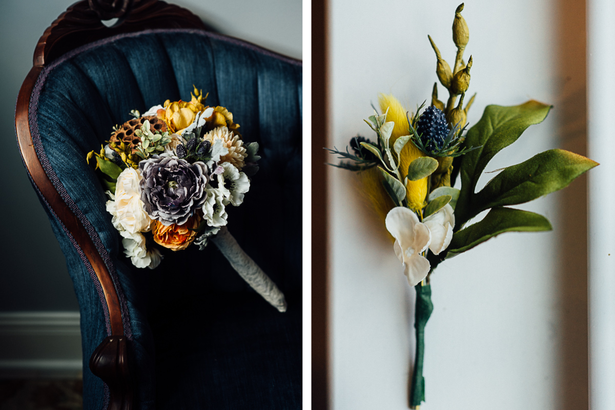 gorgeous-fall-flower-wedding-inspiration Becky and Alex | Green Door Gourmet - Fall Nashville Wedding
