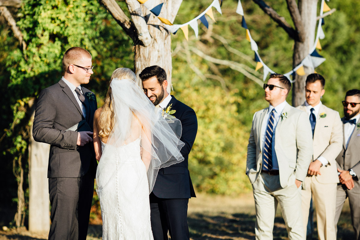 outdoor-tennessee-wedding Becky and Alex | Green Door Gourmet - Fall Nashville Wedding
