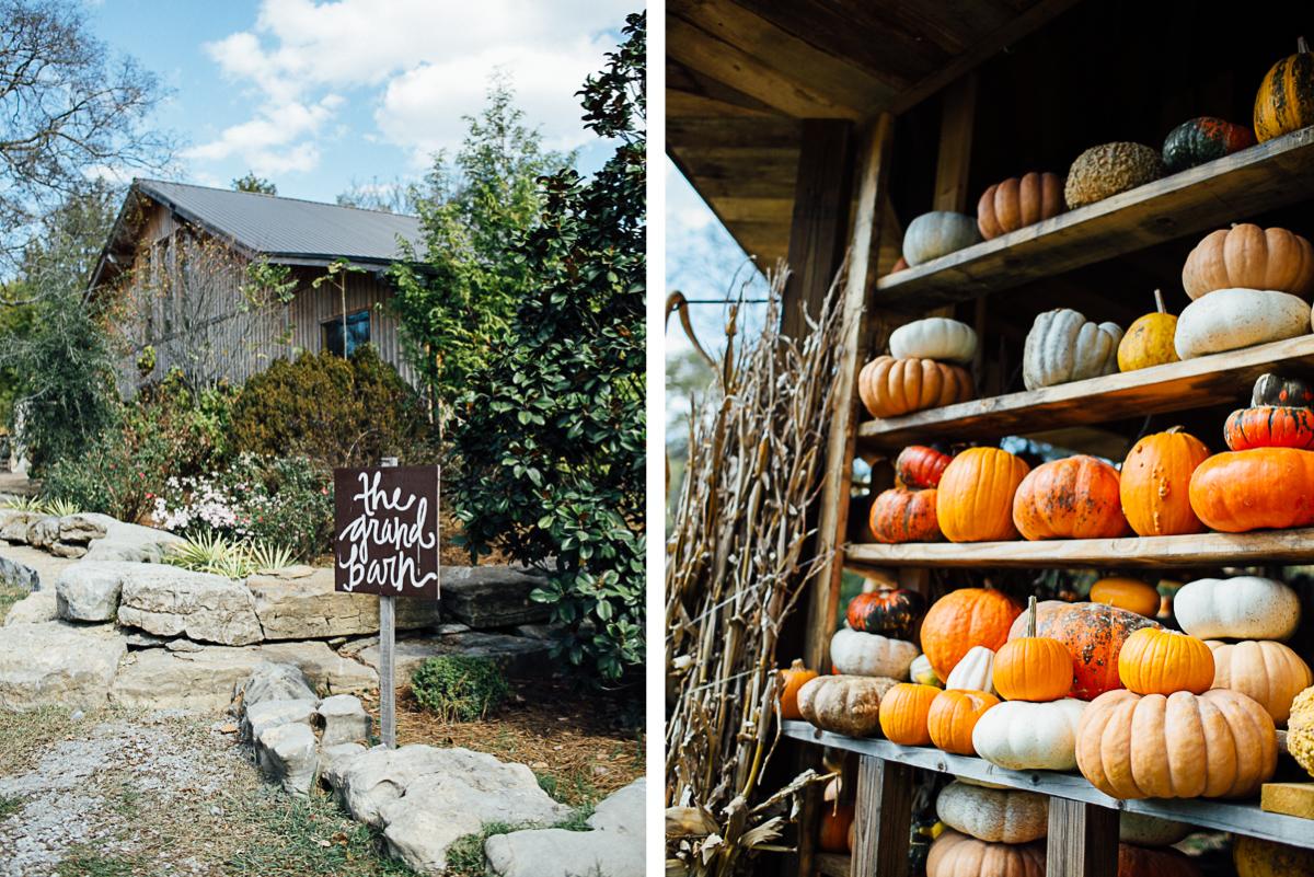 pumpkin-fall-wedding-tennessee Becky and Alex   Green Door Gourmet - Fall Nashville Wedding