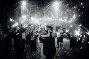 sparkler-exit-wedding-kiss-300x200 sparkler-exit-wedding-kiss