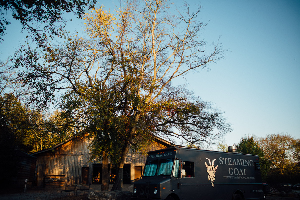 steaming-goat-wedding-catering Becky and Alex | Green Door Gourmet - Fall Nashville Wedding