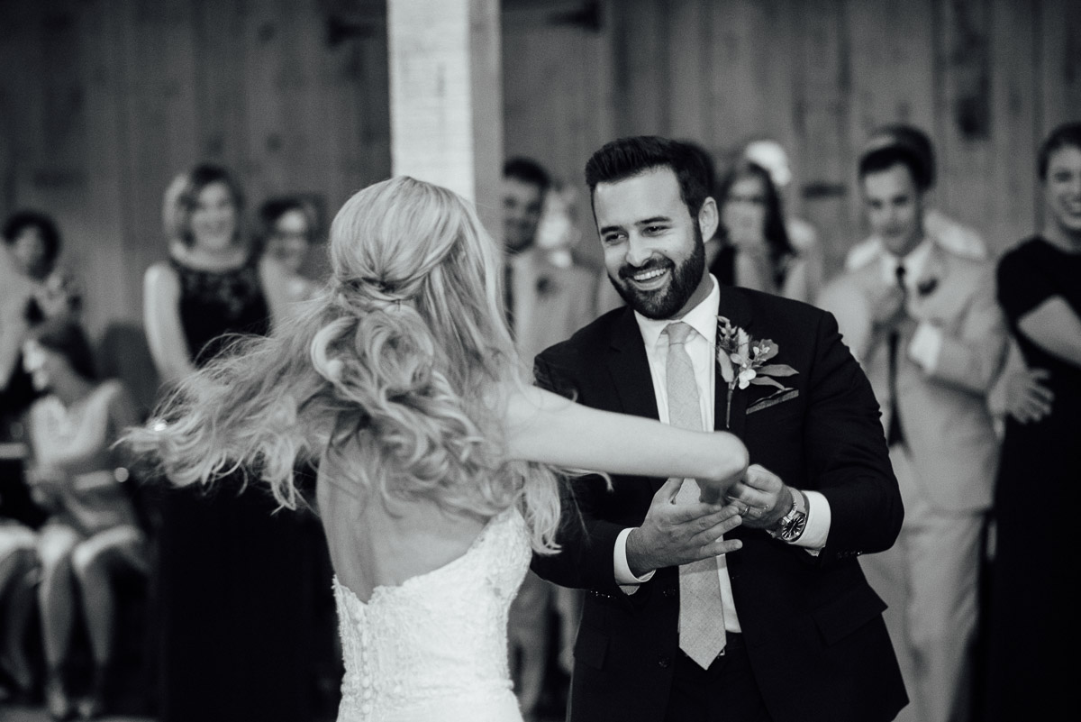 twirling-bride Becky and Alex | Green Door Gourmet - Fall Nashville Wedding