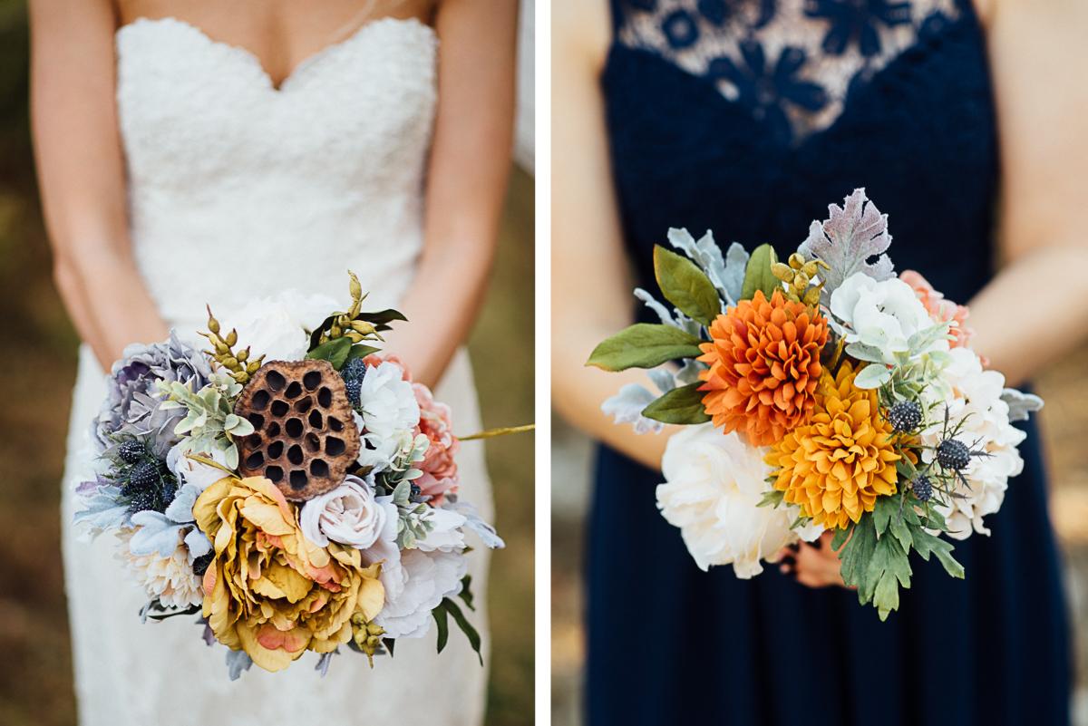 wedding-bouquets-fall Becky and Alex   Green Door Gourmet - Fall Nashville Wedding