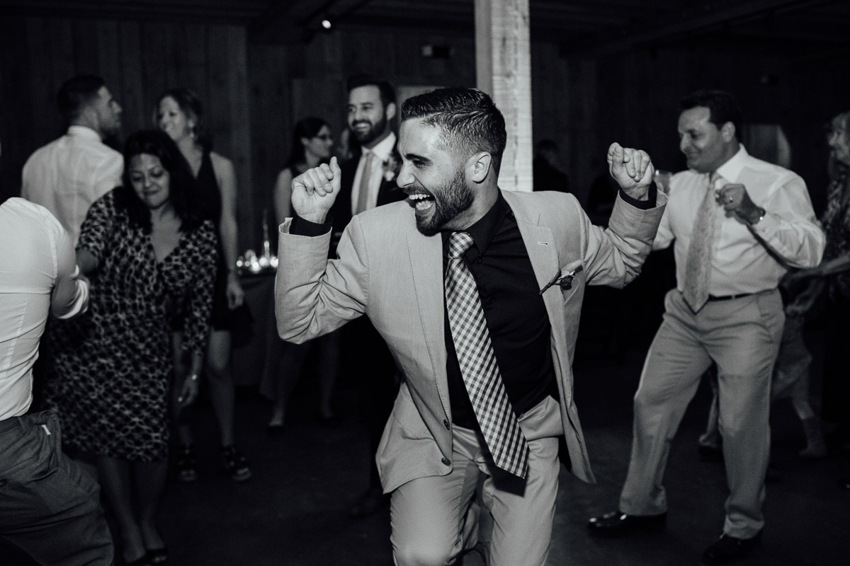 wedding-guest-dancing Becky and Alex | Green Door Gourmet - Fall Nashville Wedding
