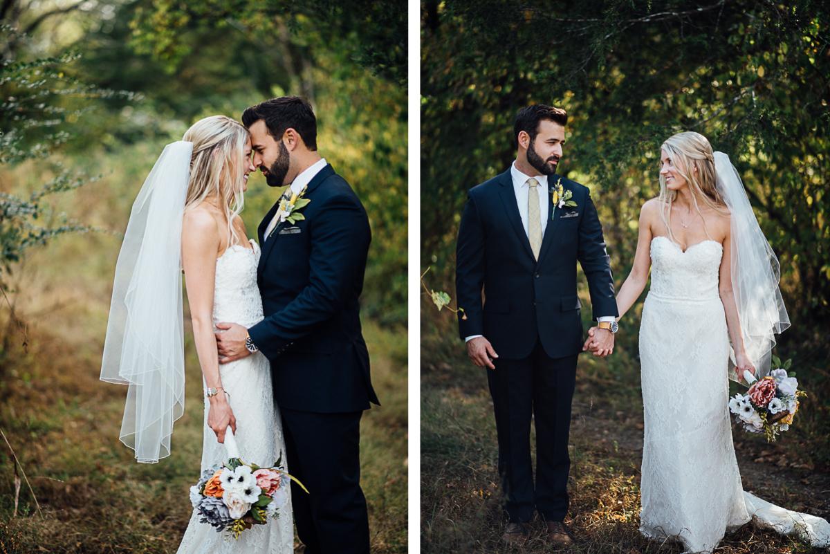 wedding-portrait Becky and Alex   Green Door Gourmet - Fall Nashville Wedding