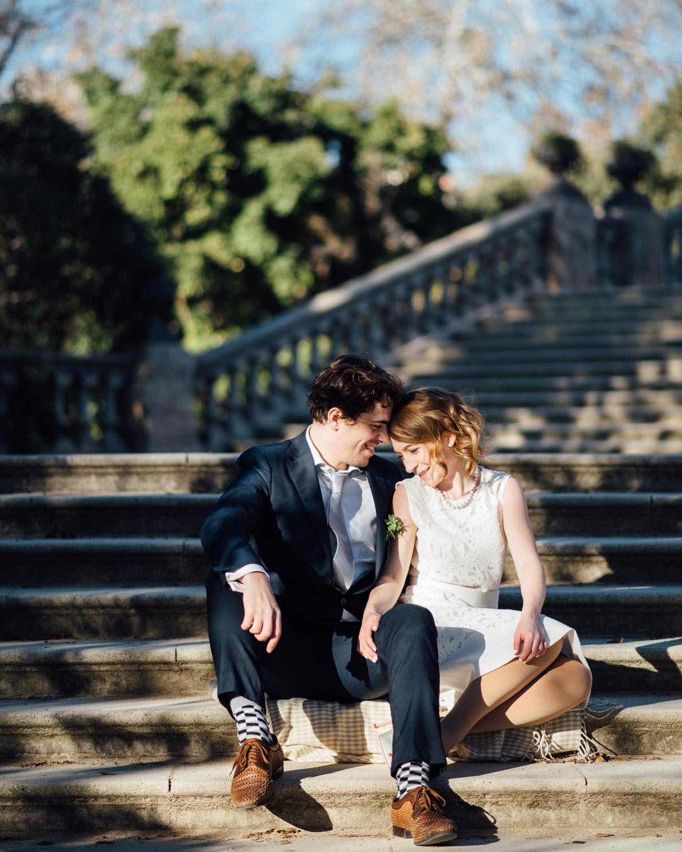 BARCELONA-CIUTADELLA Robert + Alyssa   Barcelona Elopement Photographer
