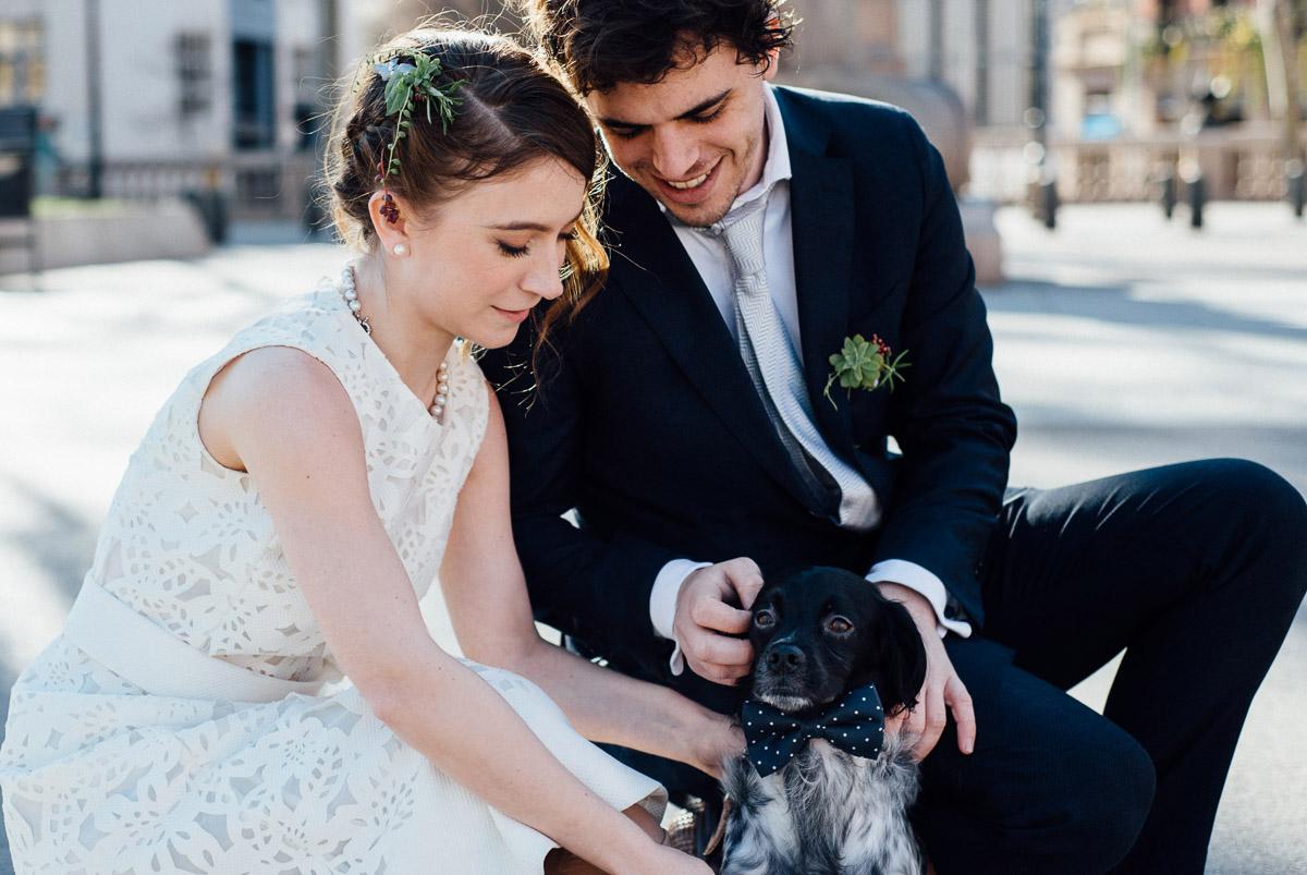DOG-WEDDING-PHOTOGRAPHY Robert + Alyssa   Barcelona Elopement Photographer