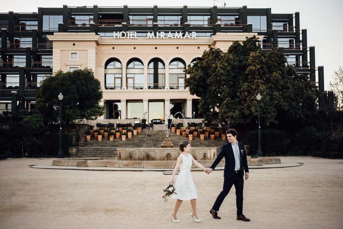 HOTEL-MIRAMAR-WEDDING Robert + Alyssa | Barcelona Elopement Photographer
