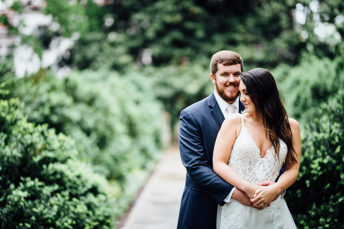 adorable-wedding-couple Belle Meade Plantation Wedding | Kendall and Andrew