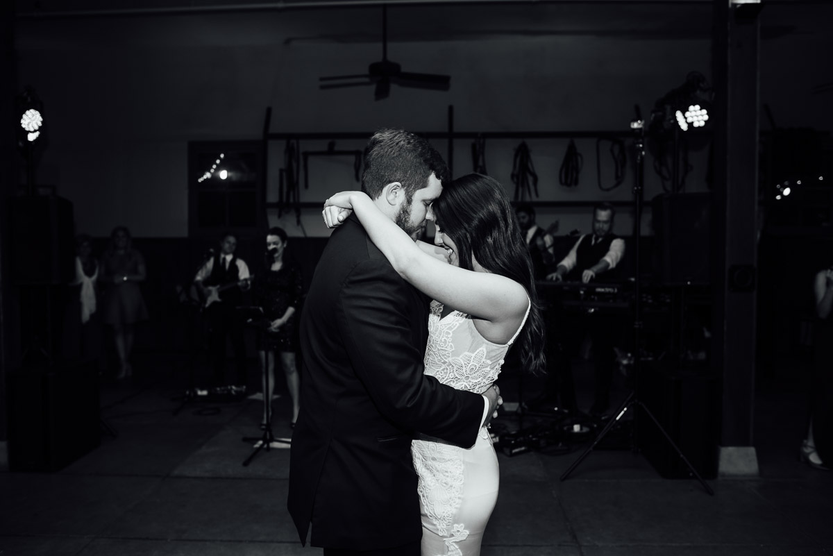 black-and-white-first-dance Belle Meade Plantation Wedding | Kendall and Andrew
