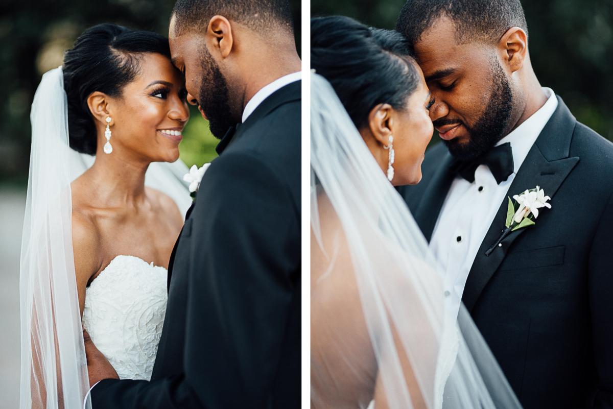 bride-groom-faces Hermitage Hotel Wedding | Barbara and Darrius