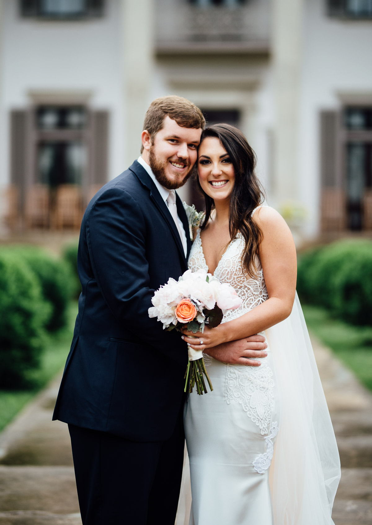 bride-groom-happy Belle Meade Plantation Wedding | Kendall and Andrew