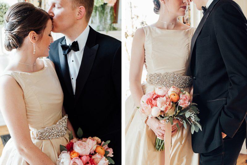 bride-groom-intimate-posing-800x534 The Mitchell House - Lebanon, TN Styled Wedding Shoot