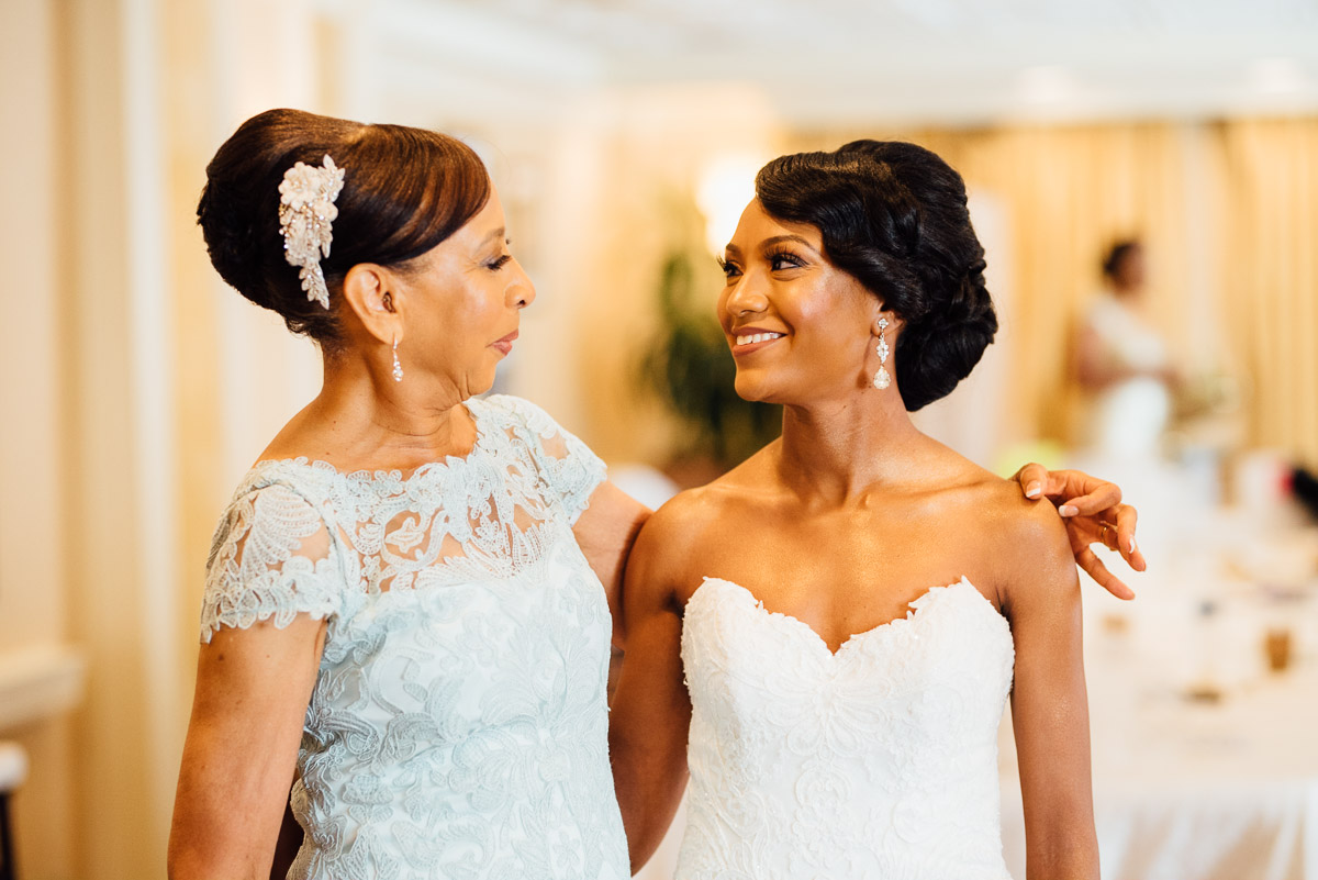 bride-with-mother Hermitage Hotel Wedding | Barbara and Darrius