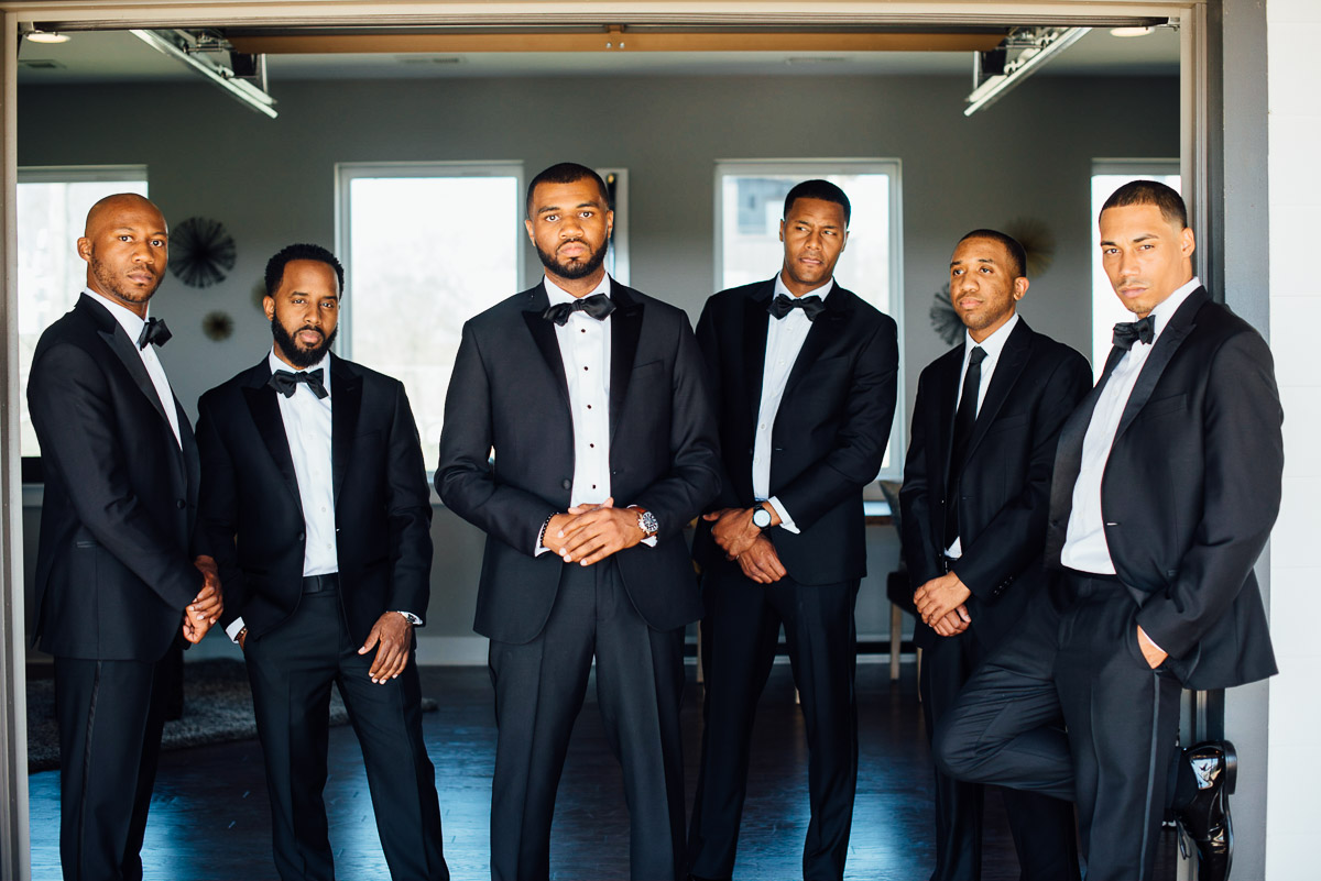 dapper-groomsmen Hermitage Hotel Wedding | Barbara and Darrius