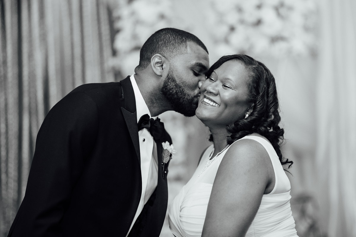 groom-kissing-mom Hermitage Hotel Wedding | Barbara and Darrius